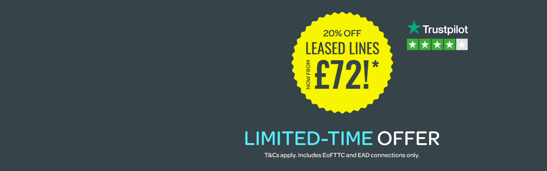 Leased Lines from £72